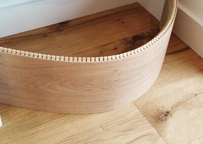 gięta deska drewniana